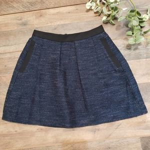 French Connection Tweed Mini Skirt Size 2